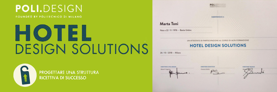 master politecnico di Milano Marta Toni